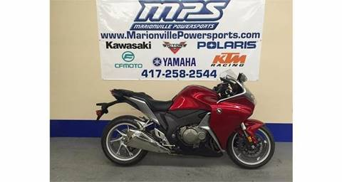 2010 Honda VFR1200F for sale in Marionville, MO