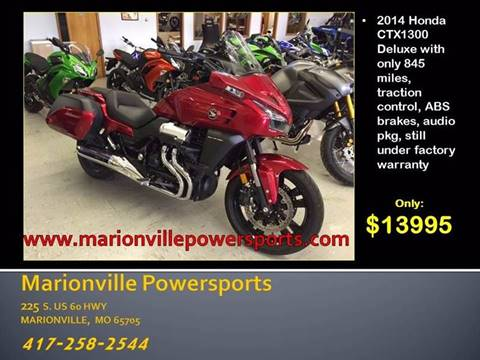 2014 Honda CTX 1300 Deluxe for sale in Marionville, MO