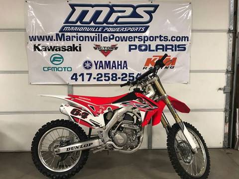 2015 Honda CRF250R for sale in Marionville MO