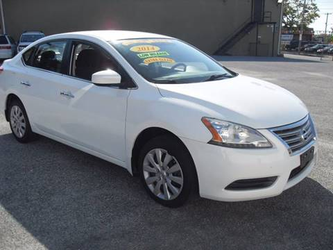 2014 Nissan Sentra for sale in Island Park, NY