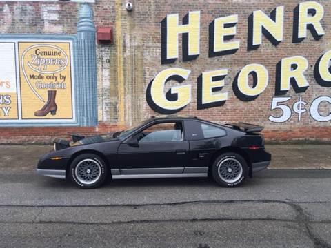 1987 Pontiac Fiero for sale in Sheridan, IN