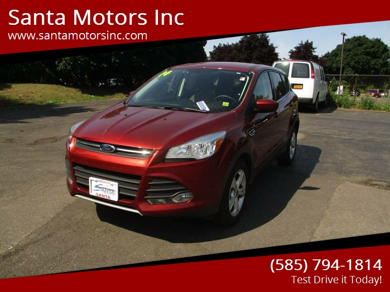 2014 ford escape awd se 4dr suv in rochester ny santa