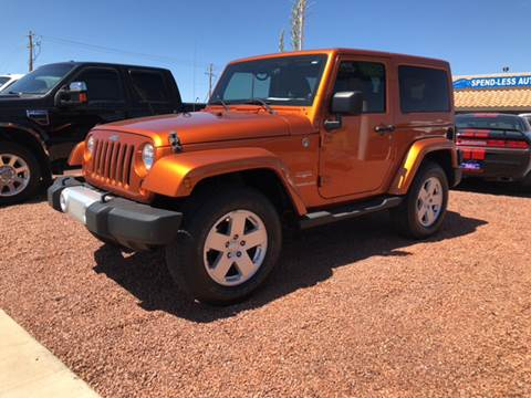 2011 Jeep Wrangler for sale at SPEND-LESS AUTO in Kingman AZ