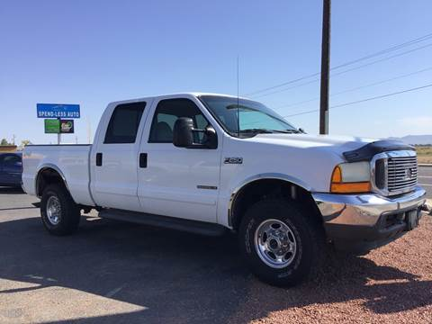 2001 Ford F-250 Super Duty for sale at SPEND-LESS AUTO in Kingman AZ