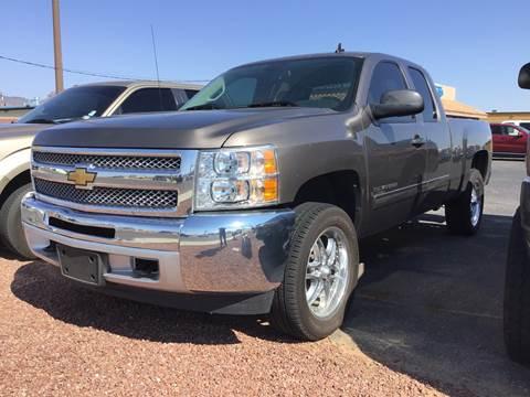 2012 Chevrolet Silverado 1500 for sale at SPEND-LESS AUTO in Kingman AZ