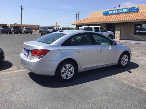 2016 Chevrolet Cruze Limited for sale at SPEND-LESS AUTO in Kingman AZ