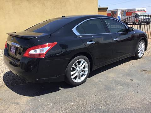 2011 Nissan Maxima for sale at SPEND-LESS AUTO in Kingman AZ