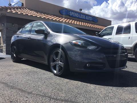 2014 Dodge Dart for sale at SPEND-LESS AUTO in Kingman AZ
