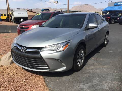 2017 Toyota Camry for sale at SPEND-LESS AUTO in Kingman AZ