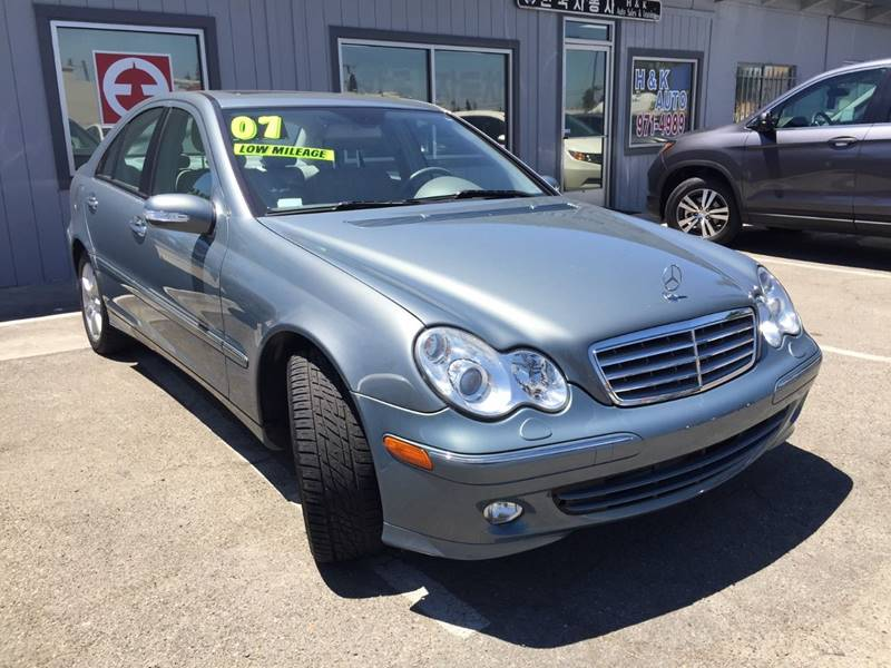 2007 Mercedes-Benz C-Class for sale at H & K Auto Sales & Leasing in San Jose CA