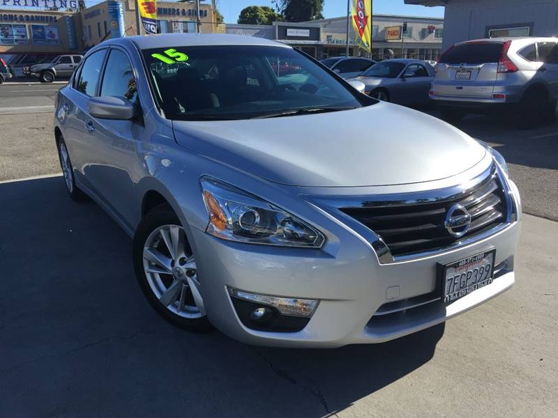 2015 Nissan Altima for sale at H & K Auto Sales & Leasing in San Jose CA