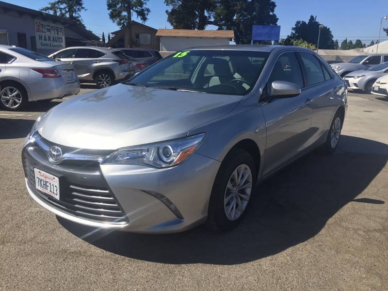 2015 Toyota Camry for sale at H & K Auto Sales & Leasing in San Jose CA