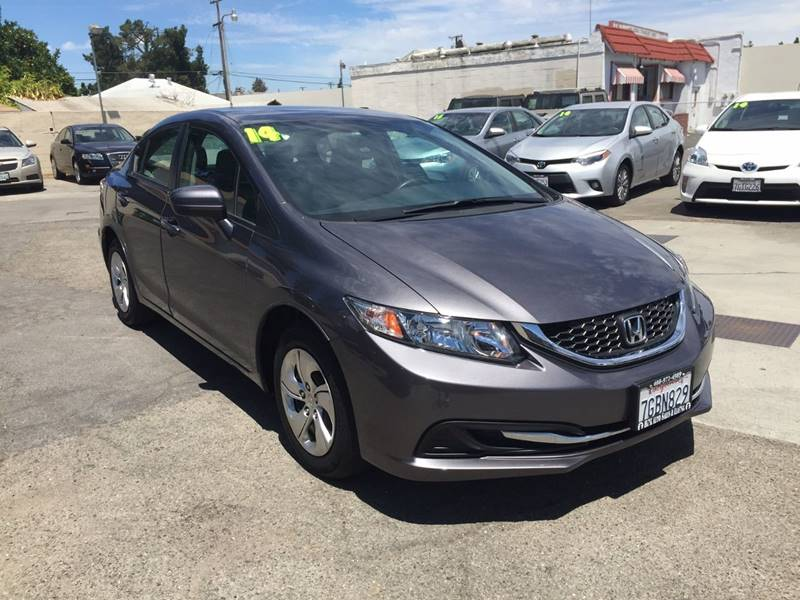 2014 Honda Civic for sale at H & K Auto Sales & Leasing in San Jose CA