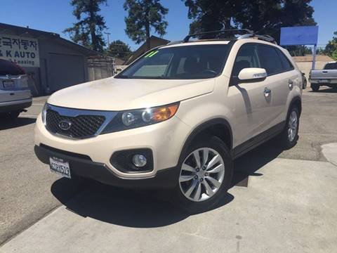 2011 Kia Sorento for sale at H & K Auto Sales & Leasing in San Jose CA