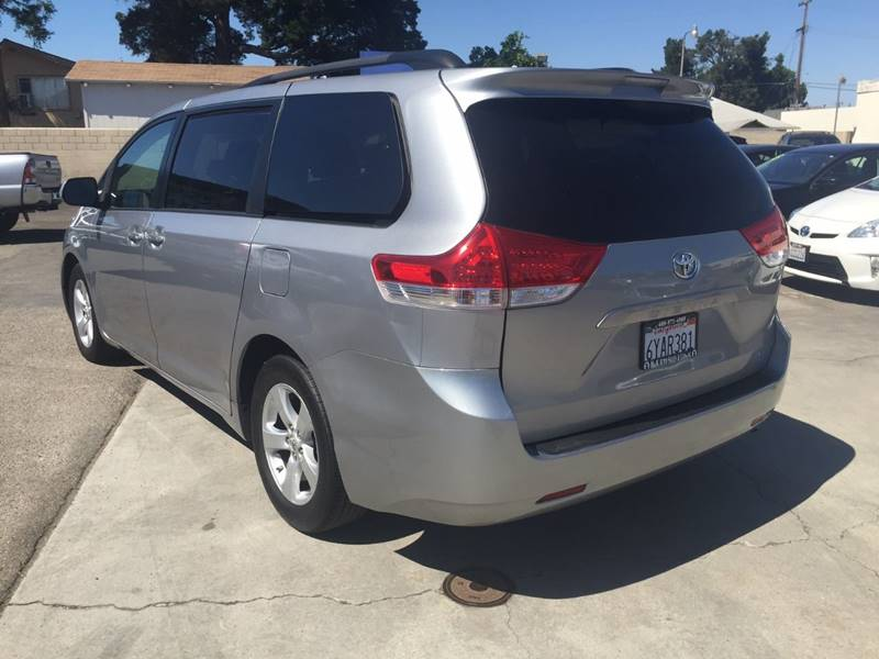 2011 Toyota Sienna for sale at H & K Auto Sales & Leasing in San Jose CA