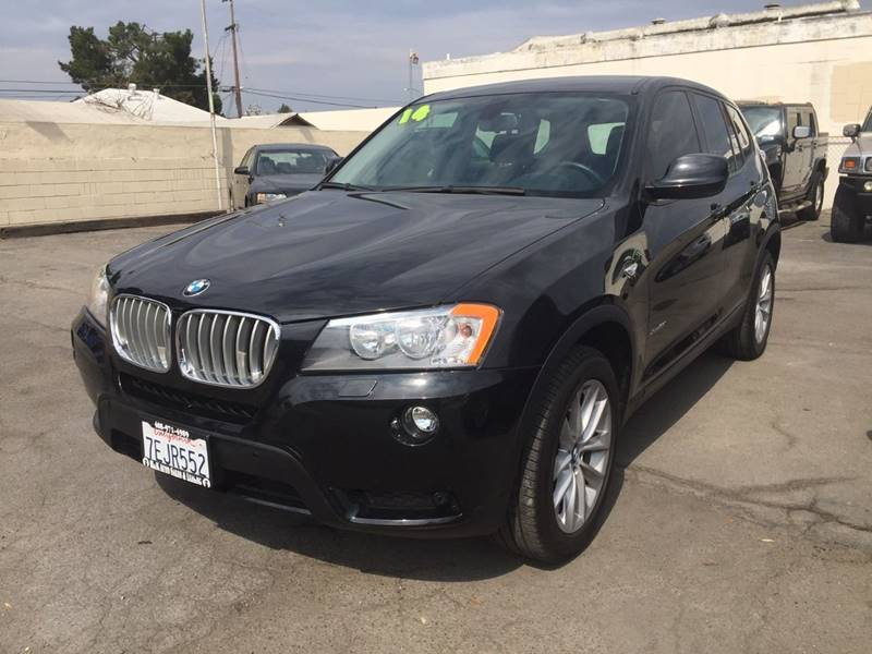 2014 BMW X3 for sale at H & K Auto Sales & Leasing in San Jose CA