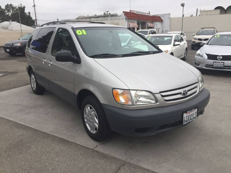 2001 Toyota Sienna for sale at H & K Auto Sales & Leasing in San Jose CA