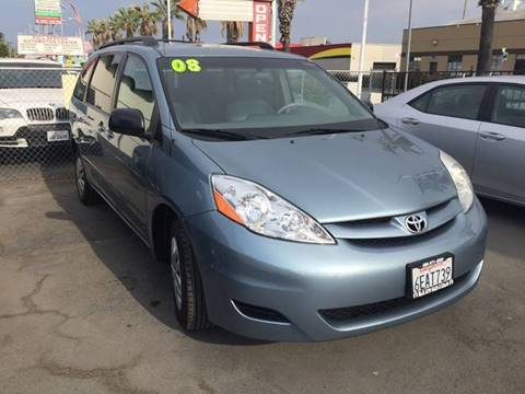 2008 Toyota Sienna for sale at H & K Auto Sales & Leasing in San Jose CA