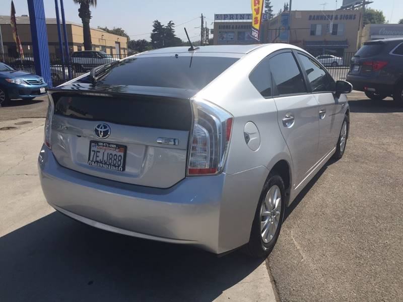 2014 Toyota Prius Plug-in Hybrid for sale at H & K Auto Sales & Leasing in San Jose CA