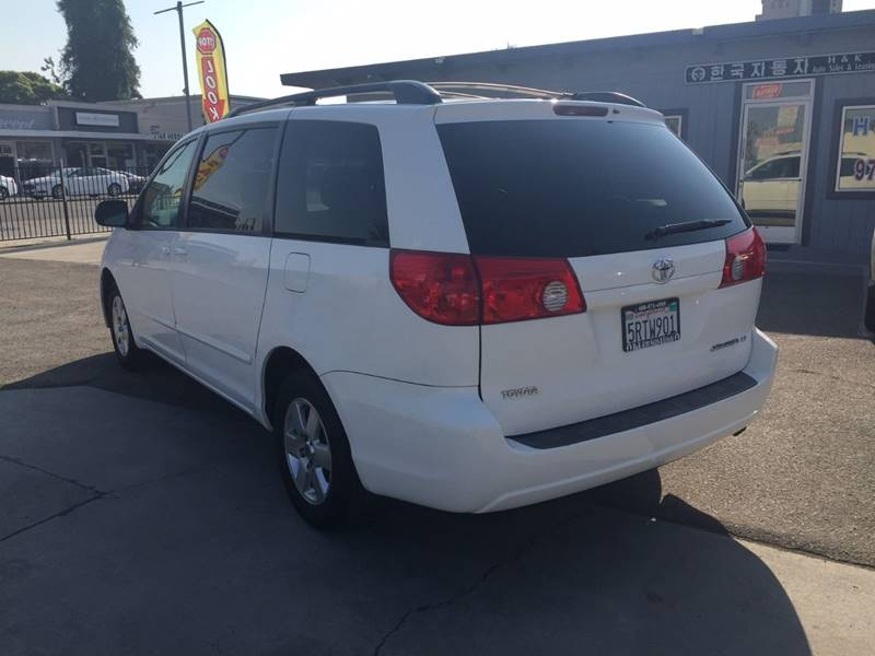 2006 Toyota Sienna for sale at H & K Auto Sales & Leasing in San Jose CA