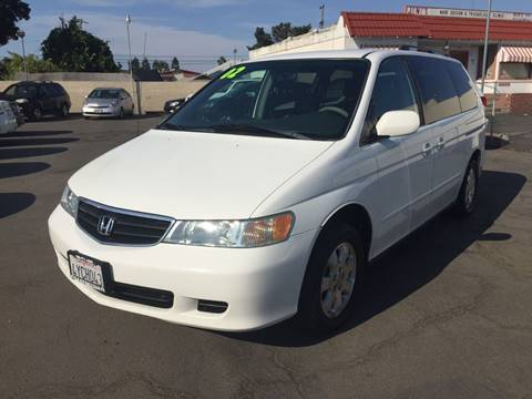 2002 Honda Odyssey for sale at H & K Auto Sales & Leasing in San Jose CA