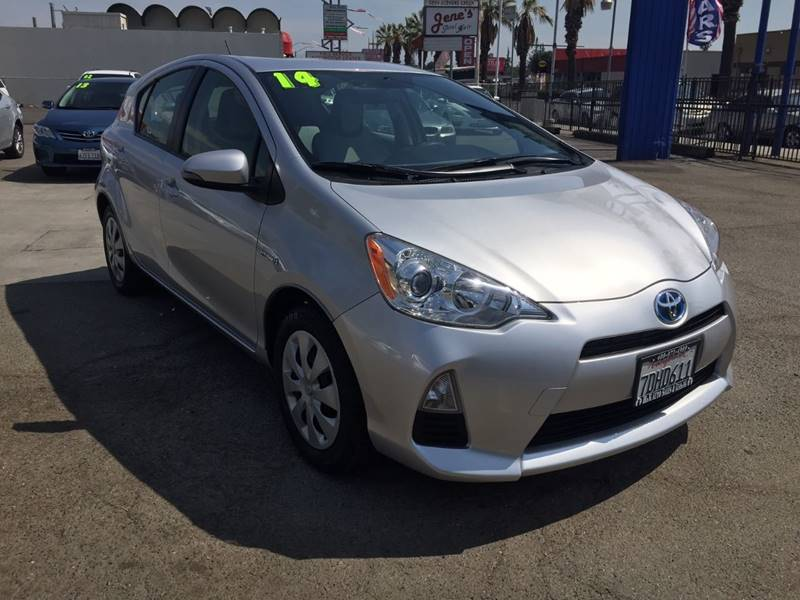 2014 Toyota Prius c for sale at H & K Auto Sales & Leasing in San Jose CA