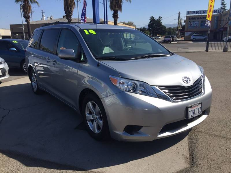 2014 Toyota Sienna for sale at H & K Auto Sales & Leasing in San Jose CA