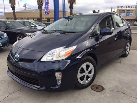 2015 Toyota Prius for sale at H & K Auto Sales & Leasing in San Jose CA