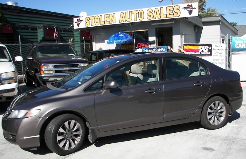 2009 Honda Civic For Sale At Stolen Auto Sales In Boise ID