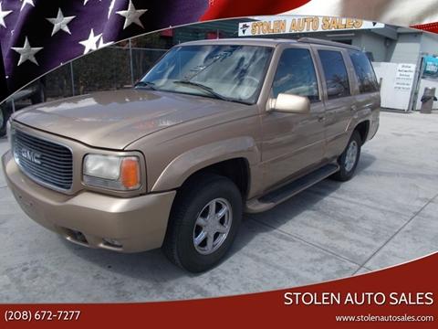 2000 GMC Yukon for sale in Boise, ID