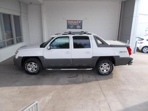2002 Chevrolet Avalanche for sale in Bay City, MI