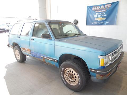 1993 Chevrolet S-10 Blazer for sale in Bay City, MI