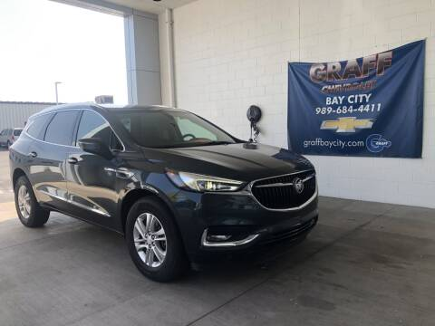 2018 Buick Enclave for sale at GRAFF CHEVROLET BAY CITY in Bay City MI