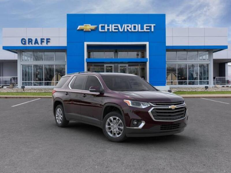 2020 Chevrolet Traverse for sale at GRAFF CHEVROLET BAY CITY in Bay City MI