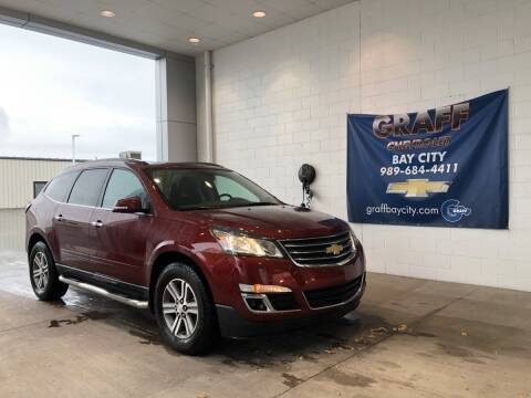 2017 Chevrolet Traverse for sale at GRAFF CHEVROLET BAY CITY in Bay City MI