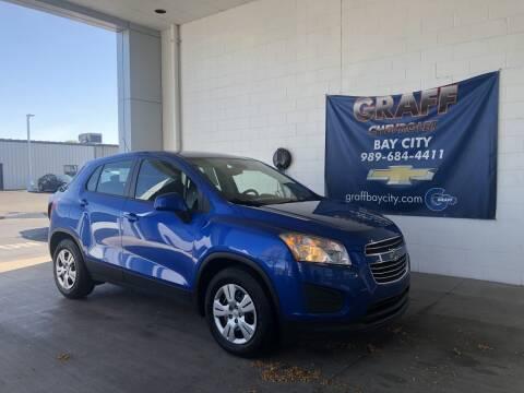 2016 Chevrolet Trax for sale at GRAFF CHEVROLET BAY CITY in Bay City MI
