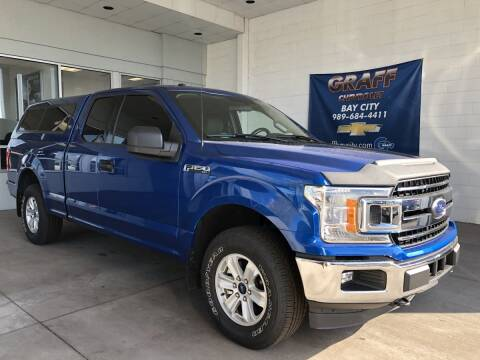 2018 Ford F-150 for sale at GRAFF CHEVROLET BAY CITY in Bay City MI