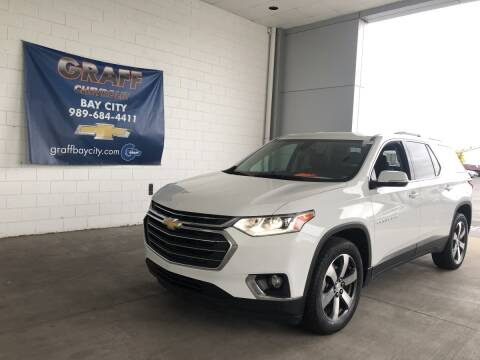 2018 Chevrolet Traverse for sale at GRAFF CHEVROLET BAY CITY in Bay City MI