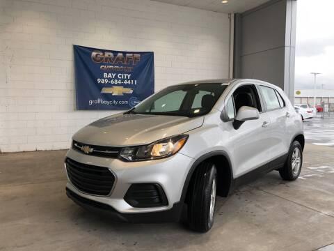 2018 Chevrolet Trax for sale at GRAFF CHEVROLET BAY CITY in Bay City MI
