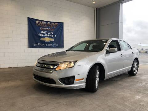 2012 Ford Fusion for sale at GRAFF CHEVROLET BAY CITY in Bay City MI