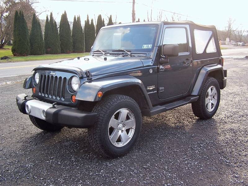 2008 Jeep Wrangler for sale at PENTON AUTOMOTIVE in Jersey Shore PA