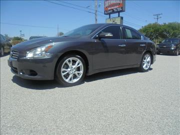 2012 Nissan Maxima for sale at Autohaus of Greensboro in Greensboro NC