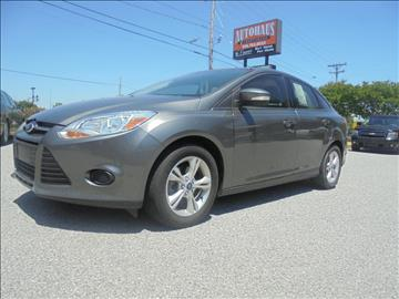 2013 Ford Focus for sale at Autohaus of Greensboro in Greensboro NC