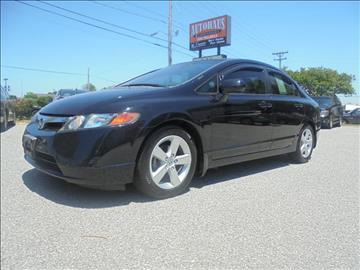 2007 Honda Civic for sale at Autohaus of Greensboro in Greensboro NC