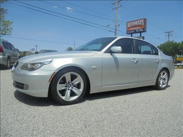 2008 BMW 5 Series for sale at Autohaus of Greensboro in Greensboro NC
