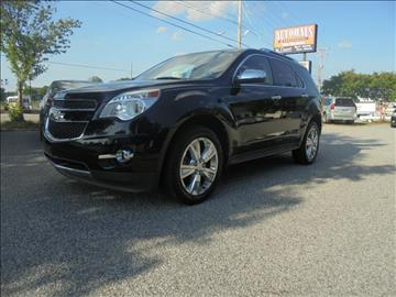 2011 Chevrolet Equinox for sale at Autohaus of Greensboro in Greensboro NC