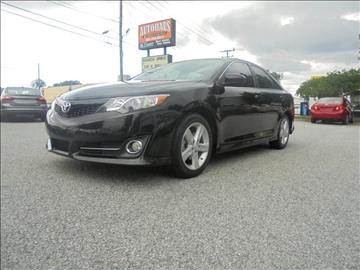 2014 Toyota Camry for sale at Autohaus of Greensboro in Greensboro NC
