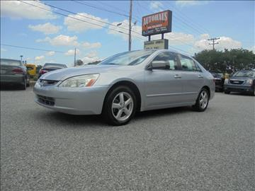 2005 Honda Accord for sale at Autohaus of Greensboro in Greensboro NC