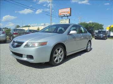 2004 Acura TSX for sale at Autohaus of Greensboro in Greensboro NC
