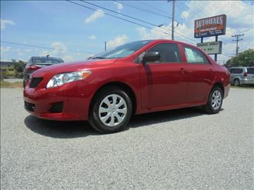 2010 Toyota Corolla for sale at Autohaus of Greensboro in Greensboro NC